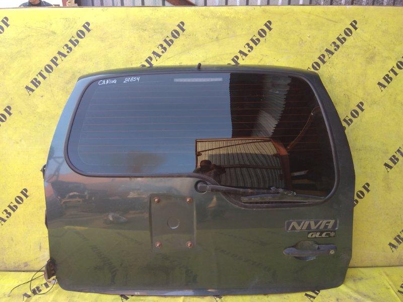 Крышка багажника Chevrolet Niva 1.7 2008