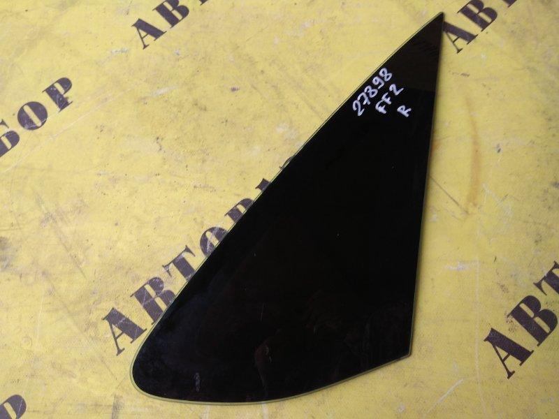Стекло кузовное глухое заднее правое Ford Focus 2 2008-2011 СЕДАН 1.6 SIDA 115 Л/С 2008