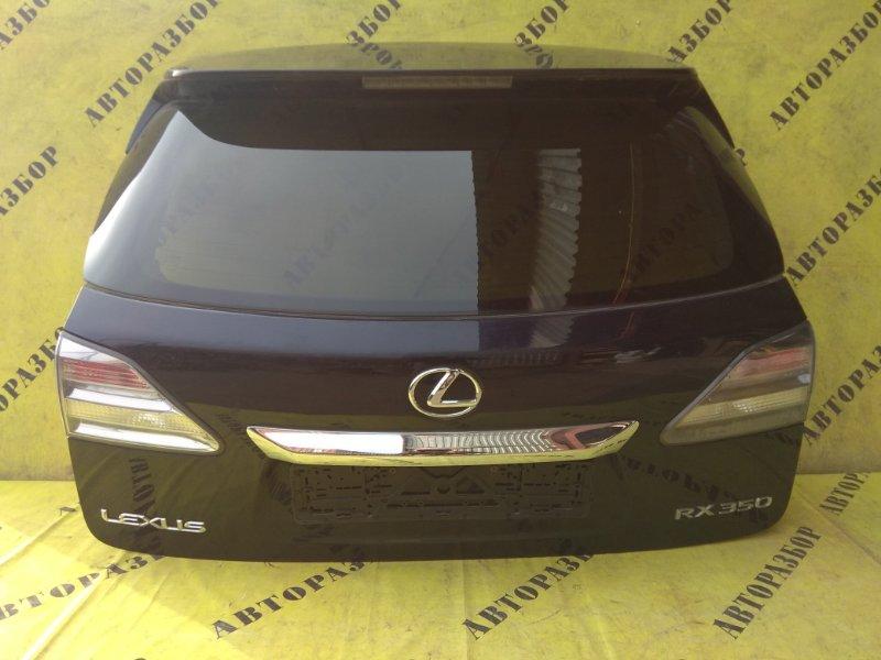 Крышка (дверь) багажника Lexus Rx350 2009-2015 3.5 2GRFE 2011