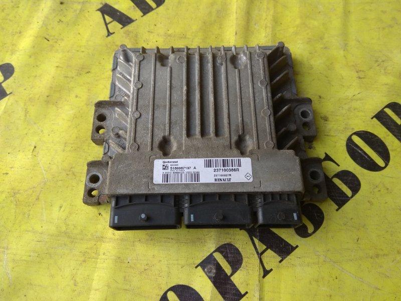 Блок управления двигателем Renault Megane 3 2009-2016 УНИВЕРСАЛ 1.5 K9K836 K9KJ836110 Л/С 2010