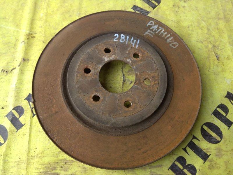 Диск тормозной передний Nissan Pathfinder (R51M) 2004-2013 2.5 YD25DDTI 2006