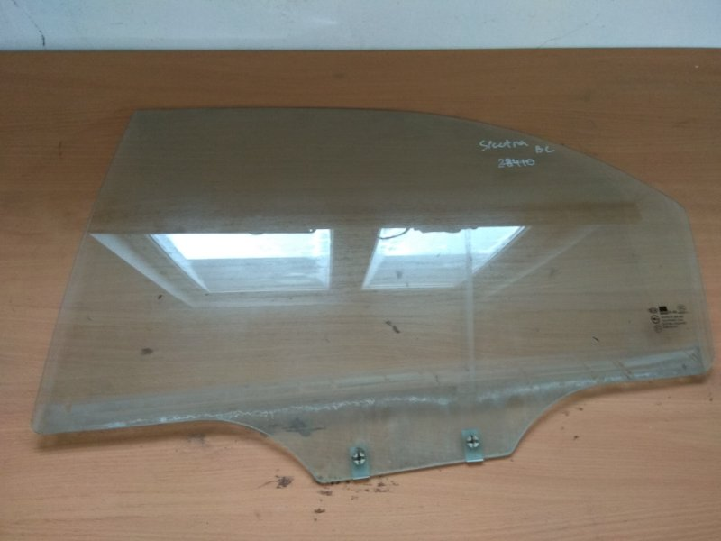 Стекло двери задней левой Kia Spectra 2001-2011
