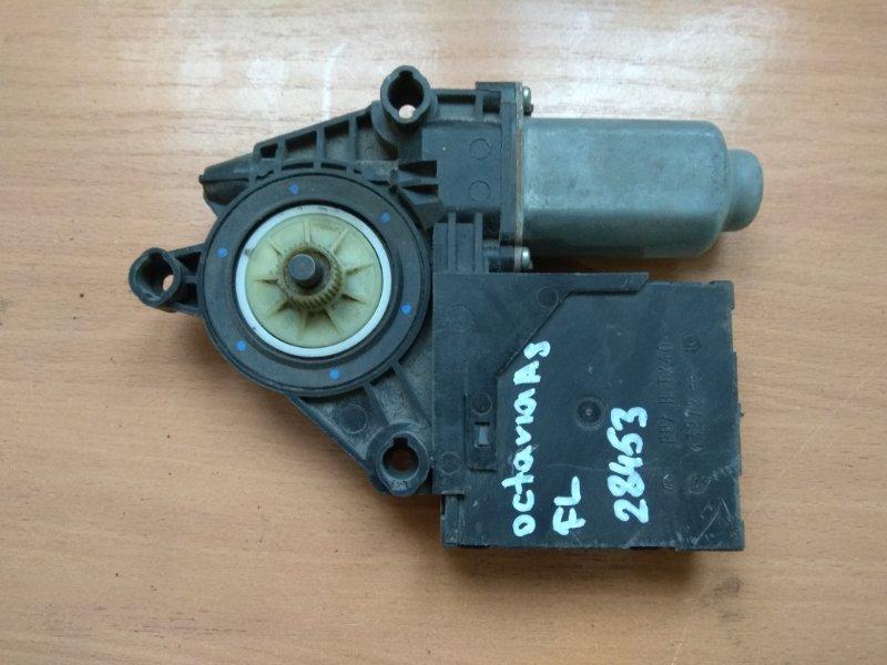 Моторчик стеклоподъемника Skoda Octavia (A5) 2004-2013
