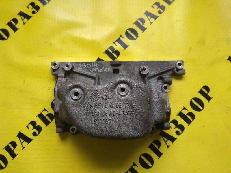 Крышка двигателя передняя Mercedes Benz Sprinter 906 2006-2018 651955 M651 D22