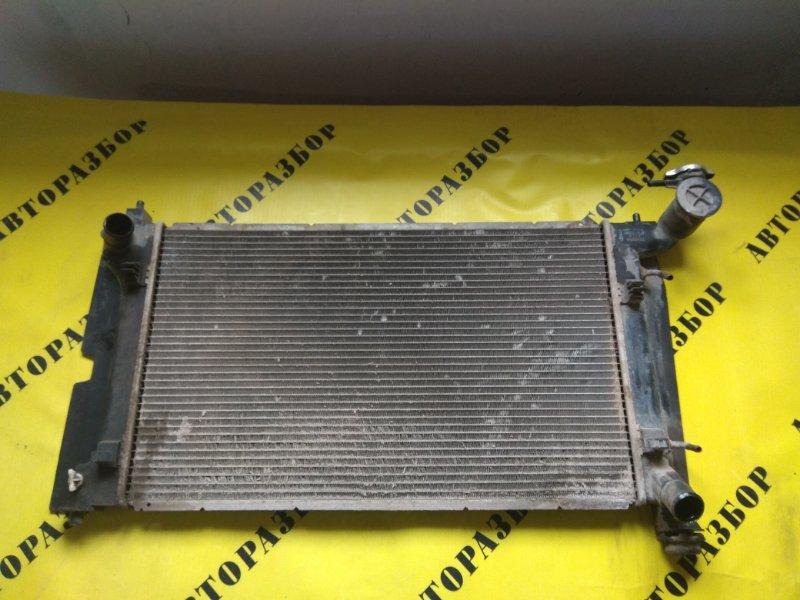 Радиатор охлаждения Toyota Corolla 120 2001-2006 ХЭТЧБЕК 1.6 3ZZ-FE 110 Л/С 2006