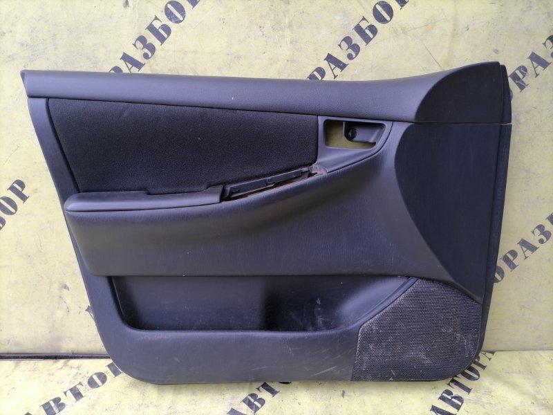 Обшивка двери передней левой Toyota Corolla 120 2001-2006 ХЭТЧБЕК 1.6 3ZZ-FE 110 Л/С 2006