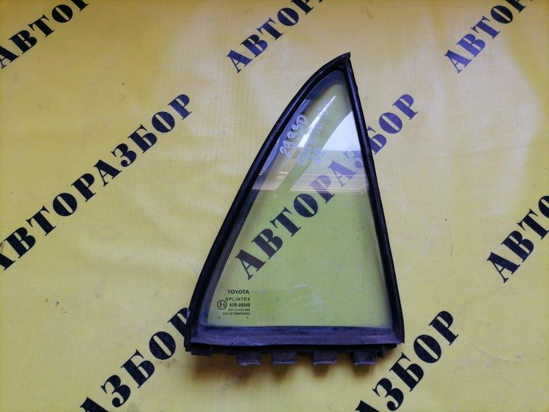 Стекло двери задней правой (форточка) Toyota Corolla 120 2001-2006 ХЭТЧБЕК 1.6 3ZZ-FE 110 Л/С 2006