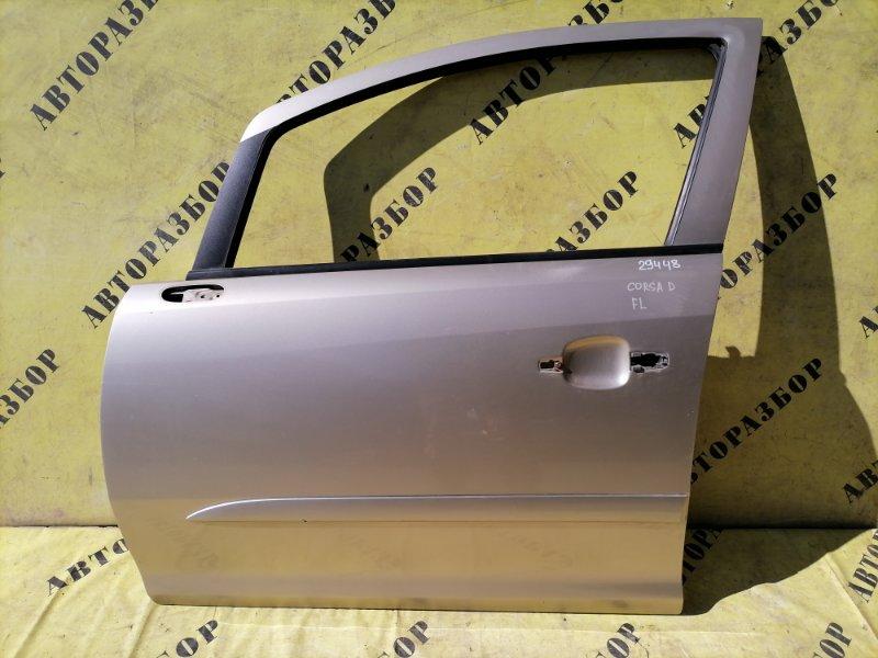Дверь передняя левая Opel Corsa D 2006-2015 1.0 Z10XEP 2007