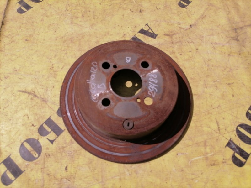 Диск тормозной задний Toyota Corolla 120 2001-2006 ХЭТЧБЕК 1.6 3ZZ-FE 110 Л/С 2006