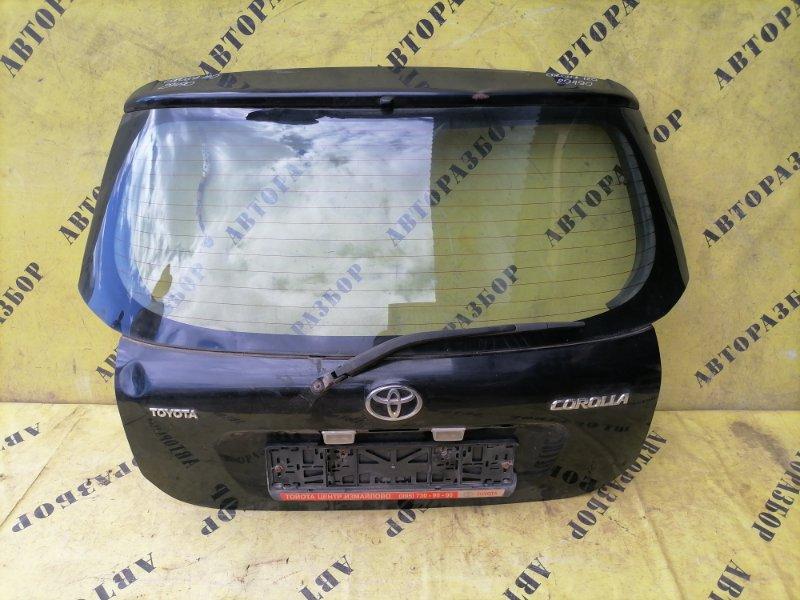 Крышка (дверь) багажника Toyota Corolla 120 2001-2006 ХЭТЧБЕК 1.6 3ZZ-FE 110 Л/С 2006