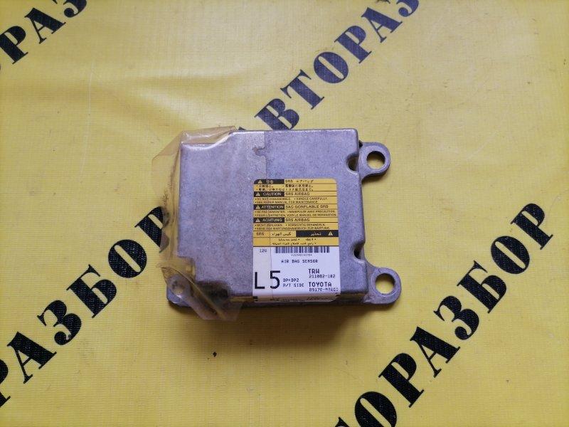 Блок управления air bag srs Toyota Corolla 120 2001-2006 ХЭТЧБЕК 1.6 3ZZ-FE 110 Л/С 2006