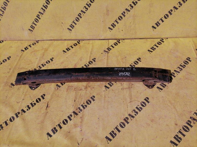 Усилитель заднего бампера Toyota Corolla 120 2001-2006 ХЭТЧБЕК 1.6 3ZZ-FE 110 Л/С 2006