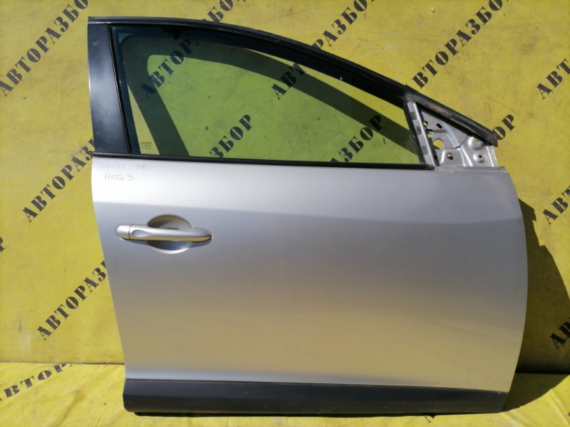 Дверь передняя правая Renault Megane 3 2009-2016 УНИВЕРСАЛ 1.5 K9K836 K9KJ836110 Л/С 2010