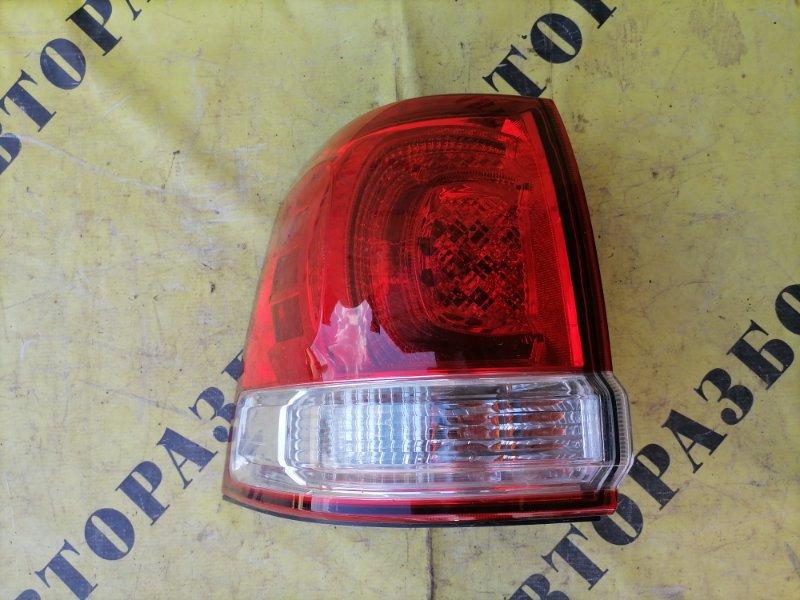 Фонарь задний левый внешний Toyota Land Cruiser 200 2008-H.b.