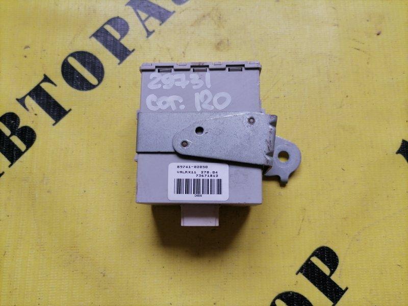 Блок электронный Toyota Corolla 120 2001-2006 ХЭТЧБЕК 1.6 3ZZ-FE 110 Л/С 2006