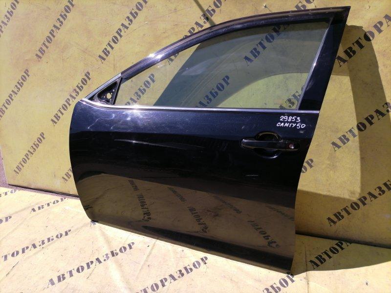 Дверь передняя левая Toyota Camry 50 2011-2017 2.5 2AR 2AR-FE 181 Л/С 2013