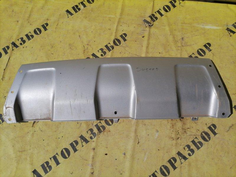 Накладка переднего бампера Renault Duster 2012-H.b.