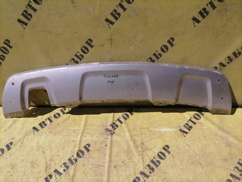 Накладка заднего бампера Renault Duster 2012-H.b.
