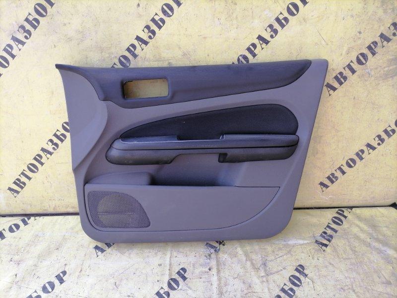 Обшивка двери передней правой Ford Focus 2 2008-2011 СЕДАН 1.6 SIDA 115 Л/С 2008