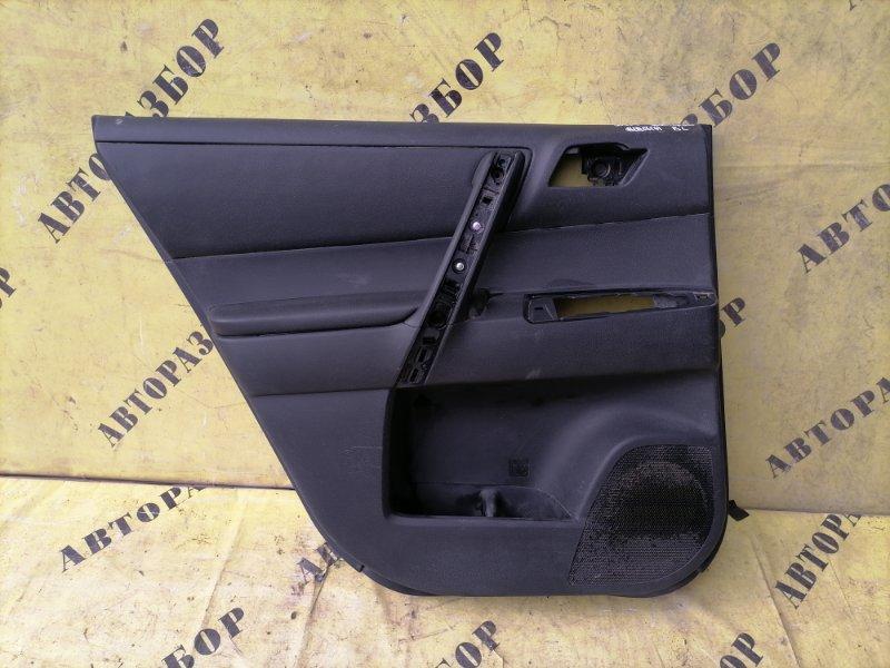 Обшивка двери задней левой Toyota Highlander 2 2007-2013