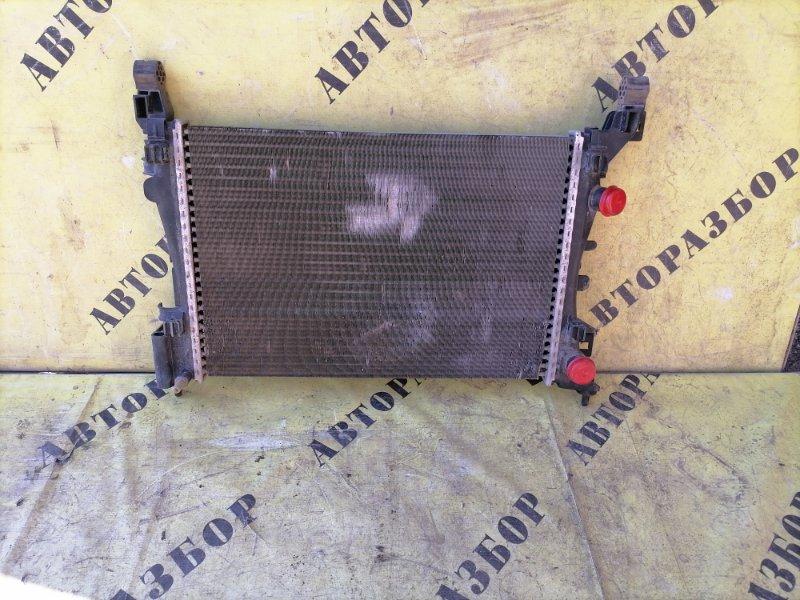 Радиатор охлаждения Opel Corsa D 2006-2015