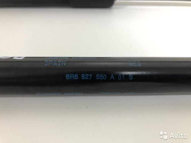 Амортизатор багажника Vw Polo 5 HB CGG 2010 (б/у)