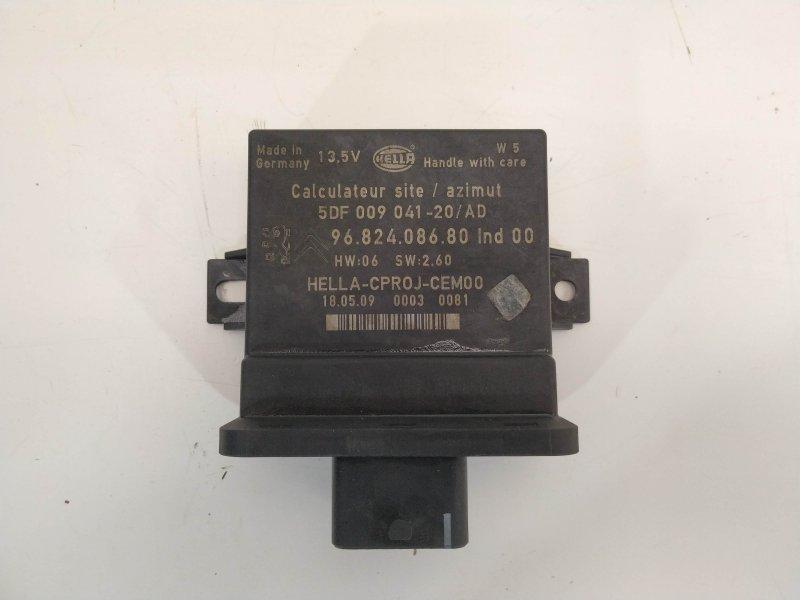 Модуль света Citroen C4 Picasso DV6TED4 2009 (б/у)