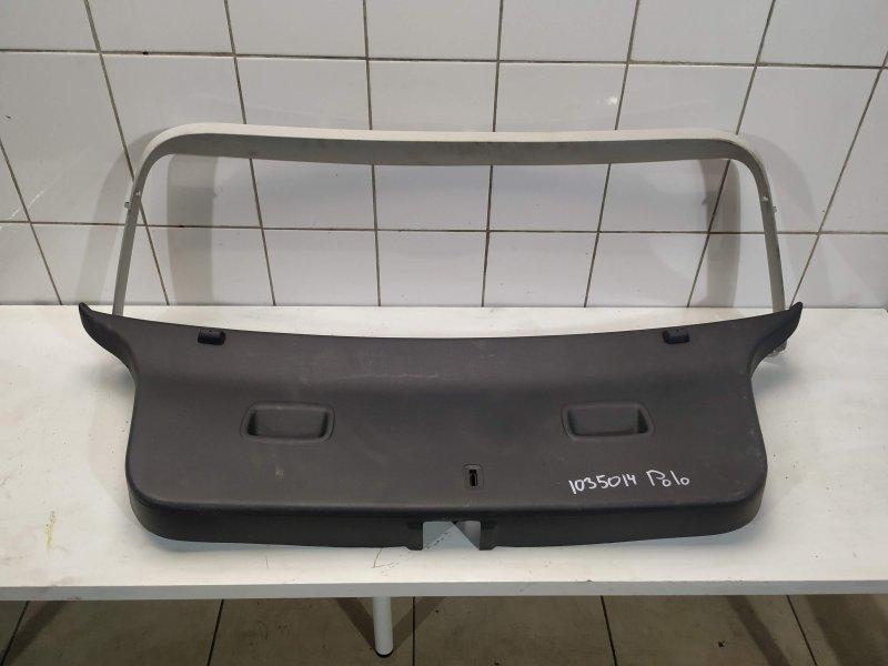 Обшивка крышки багажника Vw Polo Cross 4 BUD 2008 (б/у)