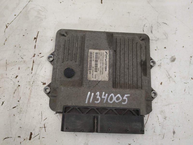 Блок управления двигателем Fiat Doblo 2 MJTD 2009 (б/у)