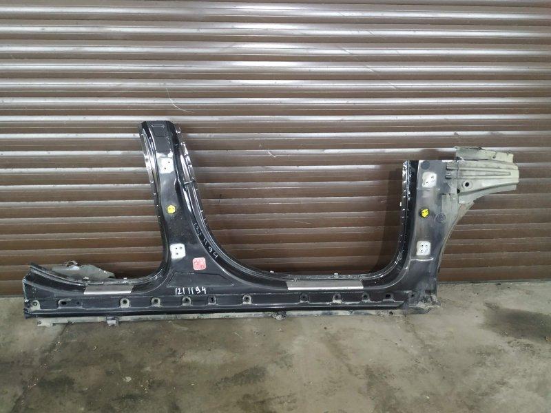 Порог со стойками правый Citroen C5 X7 EP6CDT 2014 (б/у)