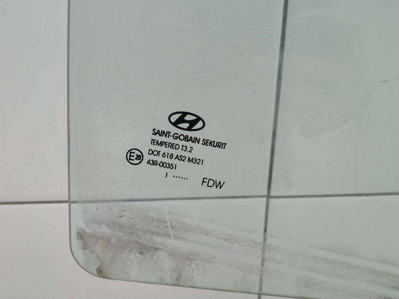 Стекло заднее правое Hyundai I30 FD D4FB 2011 (б/у)