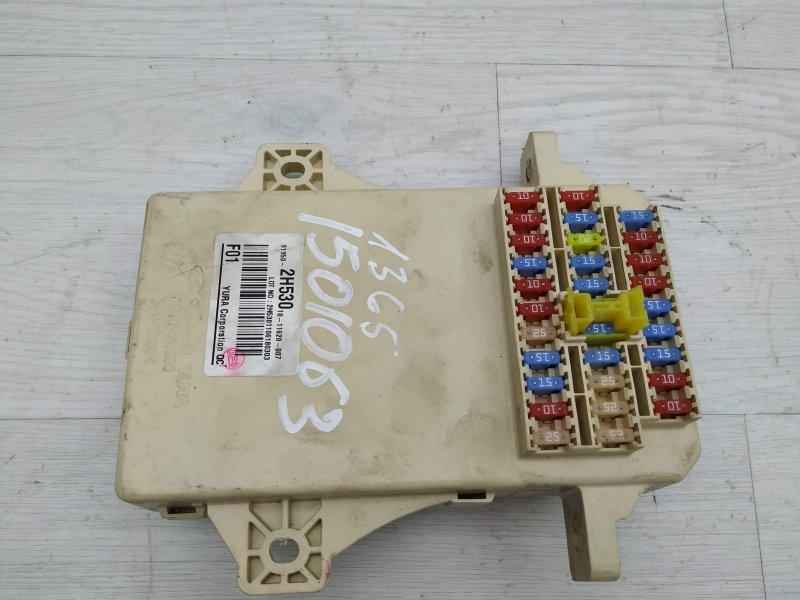Блок предохранителей салонный Hyundai I30 FD D4FB 2011 (б/у)