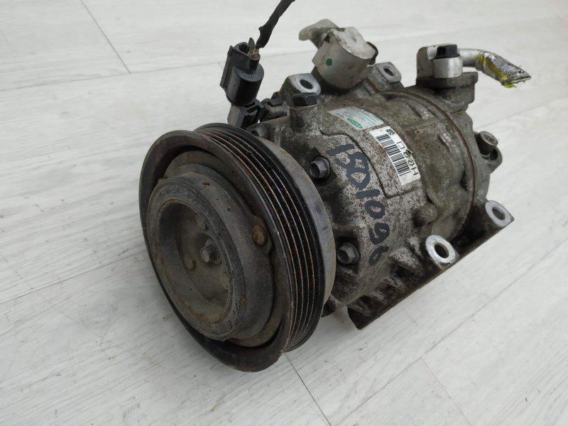 Компрессор кондиционера Hyundai I30 FD D4FB 2011 (б/у)
