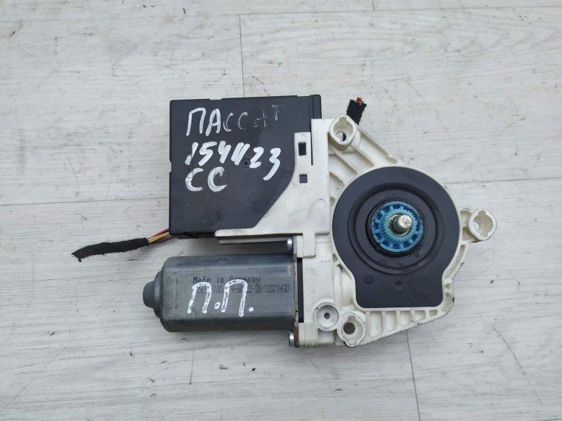 Моторчик передний правый Vw Passat Cc CDAB 2011 (б/у)