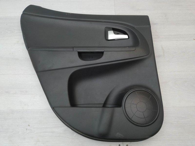 Обшивка задняя левая Kia Venga G4FC 2011 (б/у)