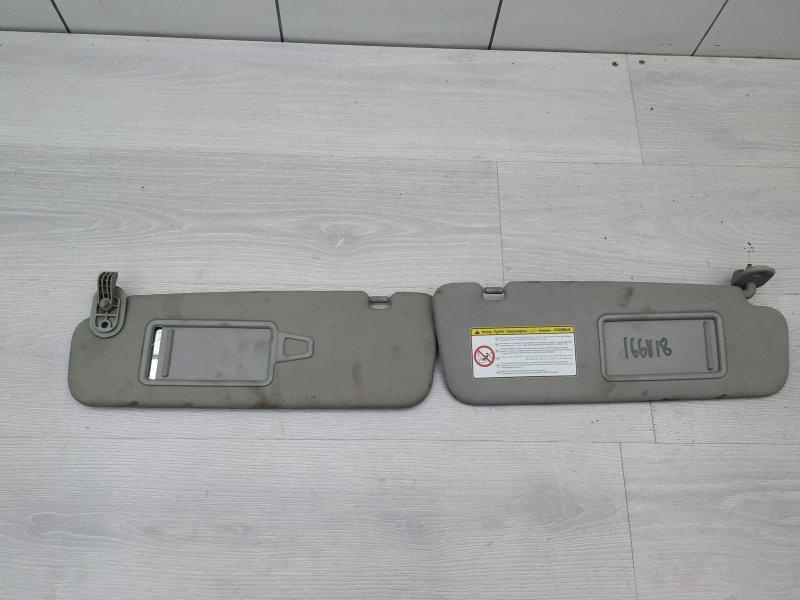Козырьки солнцезащитные Kia Venga G4FC 2011 (б/у)