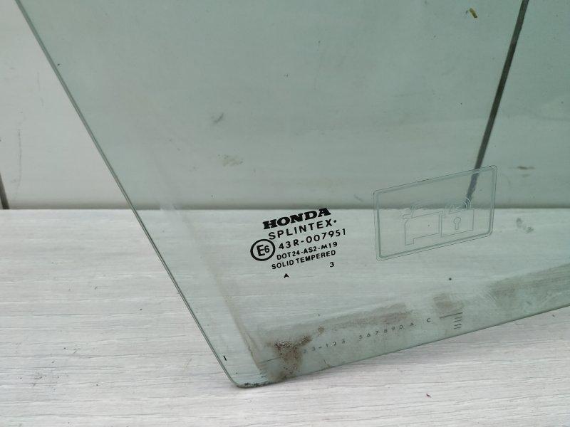 Стекло переднее правое Honda Cr-V 2 K20A4 2003 (б/у)