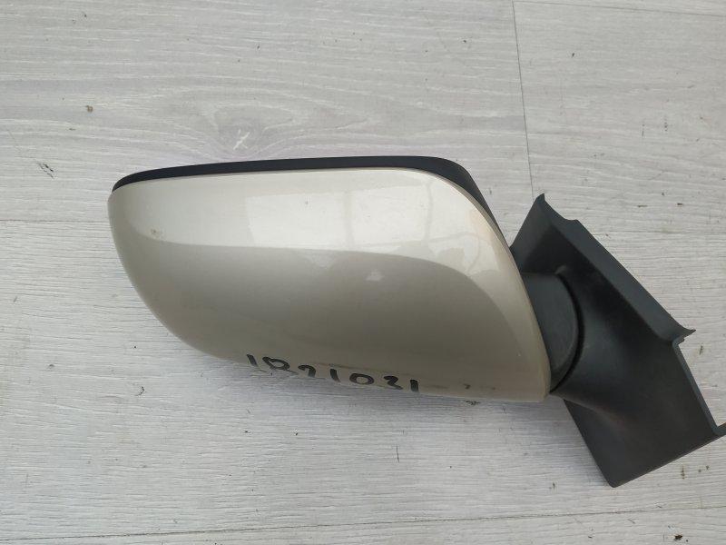 Зеркало правое Toyota Yaris NSP90 1NR-FE 2010 (б/у)