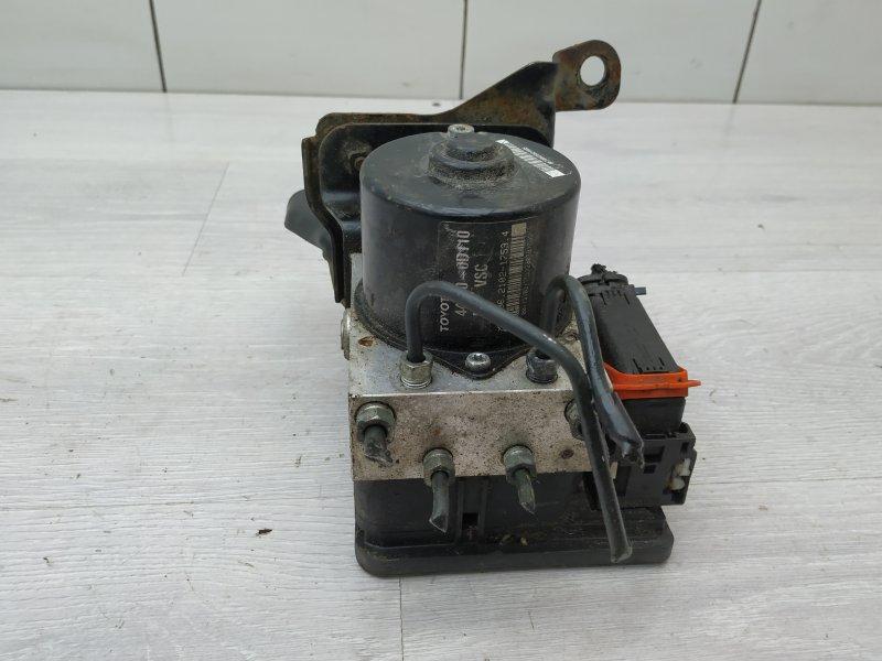 Блок abs Toyota Yaris NSP90 1NR-FE 2010 (б/у)