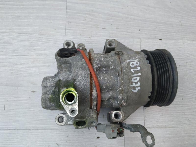 Компрессор кондиционера Toyota Yaris NSP90 1NR-FE 2010 (б/у)