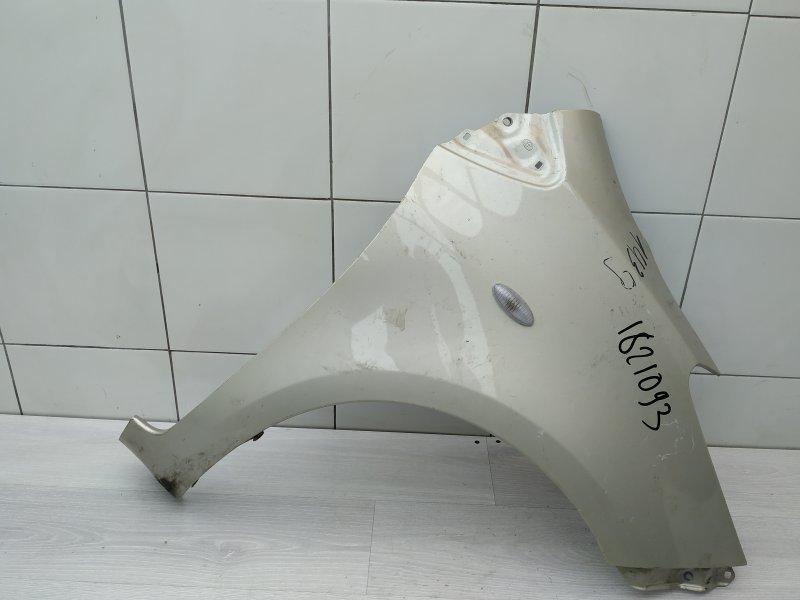 Крыло переднее правое Toyota Yaris NSP90 1NR-FE 2010 (б/у)