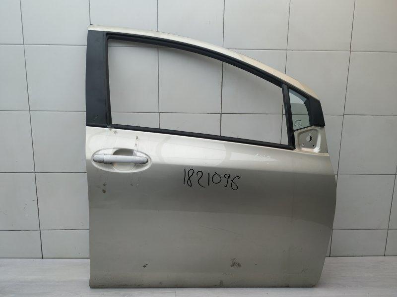 Дверь передняя правая Toyota Yaris NSP90 1NR-FE 2010 (б/у)