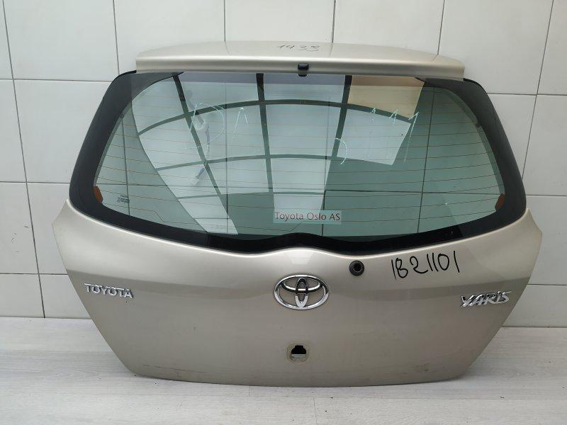Крышка багажника Toyota Yaris NSP90 1NR-FE 2010 (б/у)