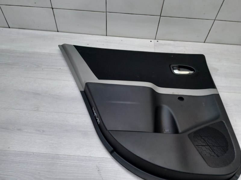 Обшивка задняя левая Toyota Yaris NSP90 1NR-FE 2010 (б/у)