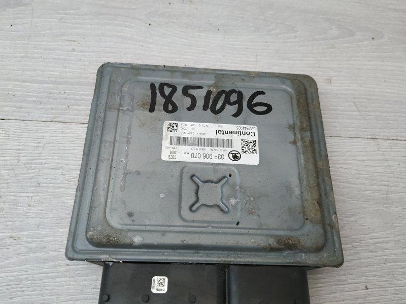 Блок управления двигателем Skoda Yeti CBZB 2009 (б/у)
