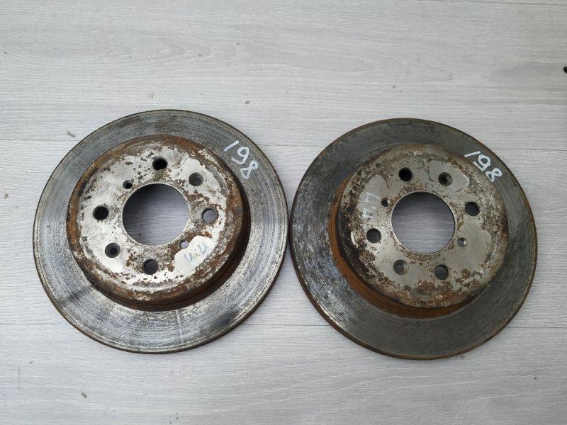 Тормозные диски передние Suzuki Ignis M13A 2006 (б/у)