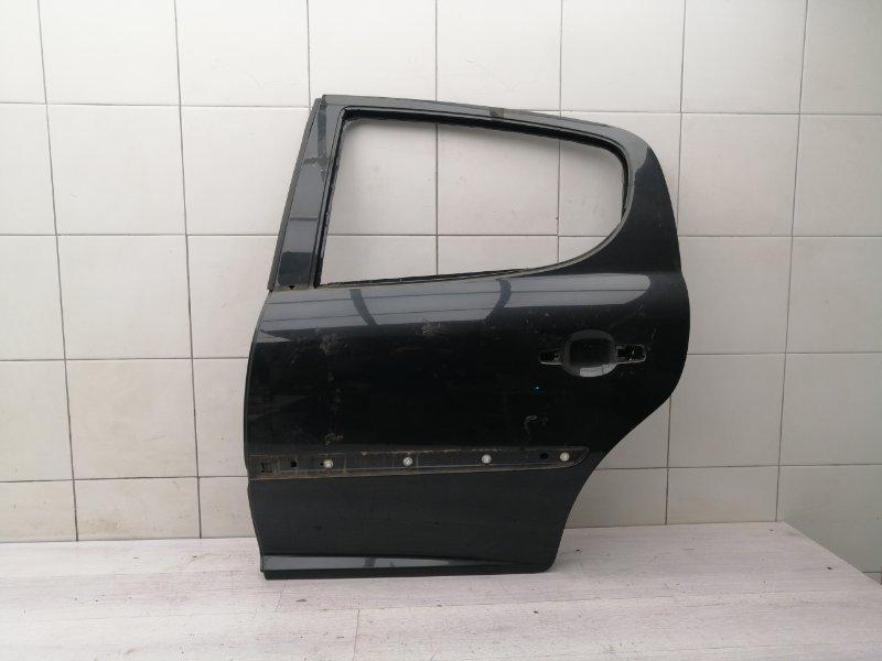 Дверь задняя левая Peugeot 207 EP6 2007 (б/у)