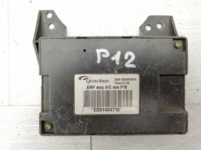 Блок электронный Nissan Primera P12 QG18 2004 (б/у)