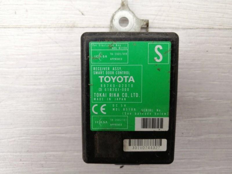 Блок управления центральным замком Toyota Auris E15 1ZR 2008 (б/у)
