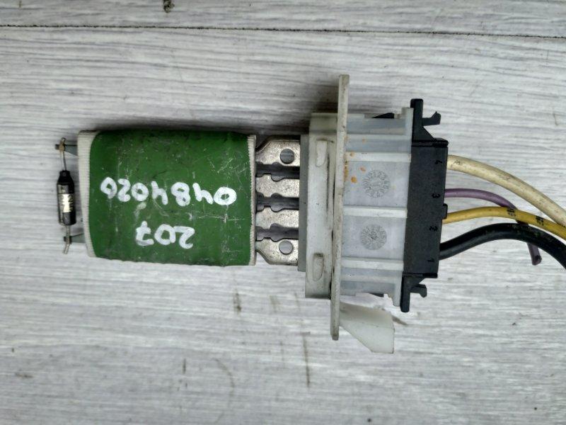 Резистор печки Peugeot 207 EP6 2007 (б/у)